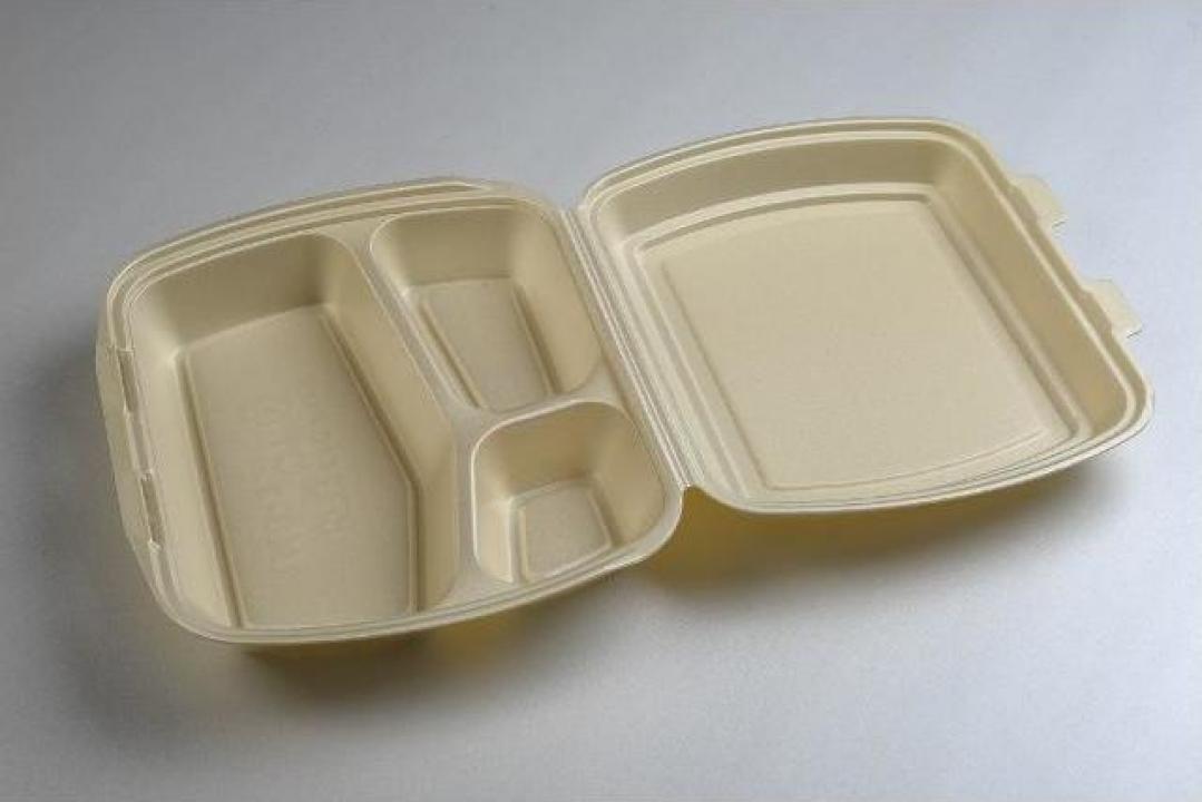 Caserola catering cu 3 compartimente