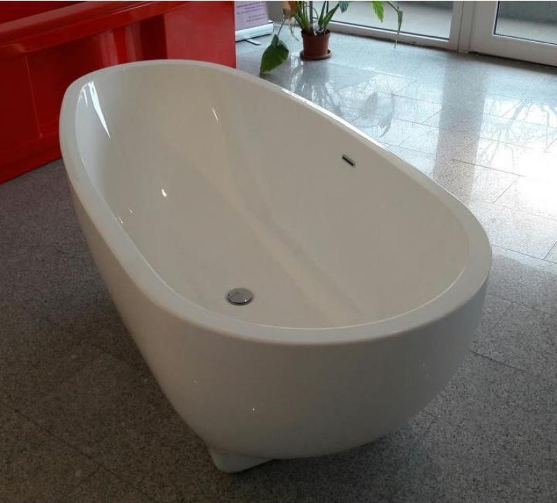 Cada baie compozit ovala
