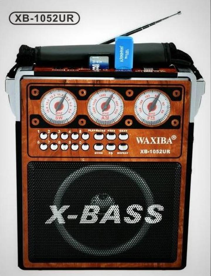 Radio MP3/USB Waxiba XB-1052UR