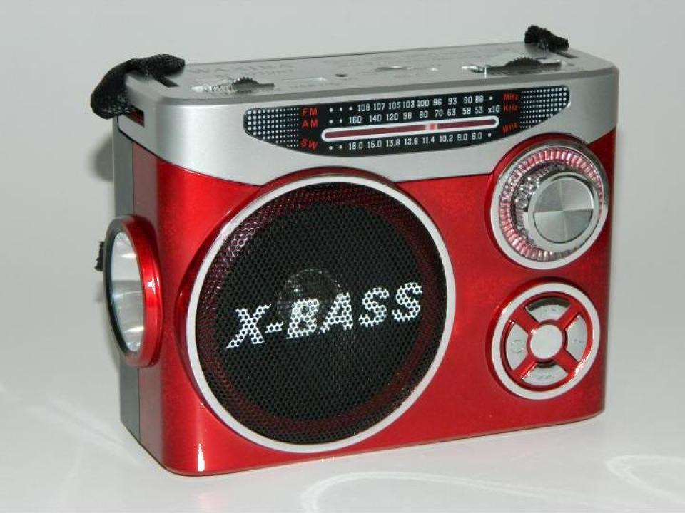 Radio cu lanterna si MP3 player Waxiba XB-231URT