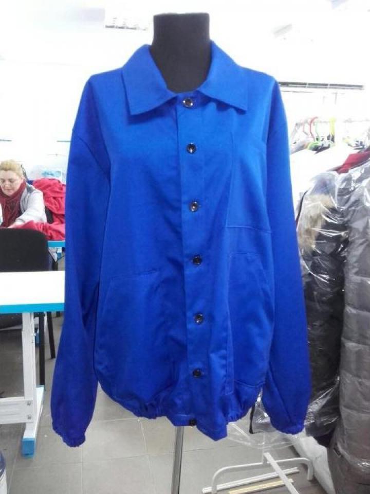 Bluza de salopeta albastra