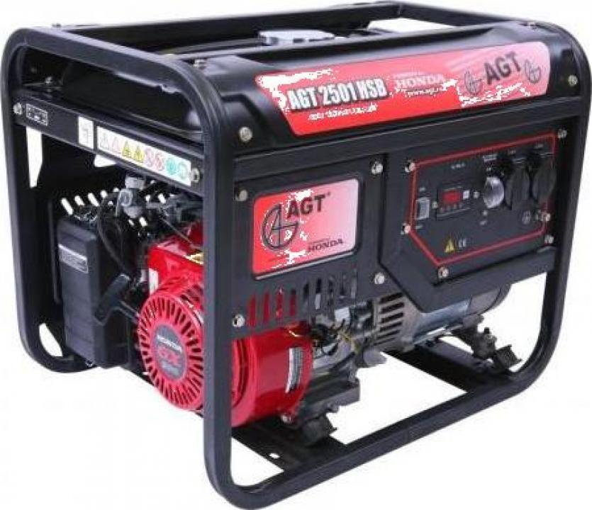 Generator de curent AGT 2501 TTL, motor Honda, 2300 W