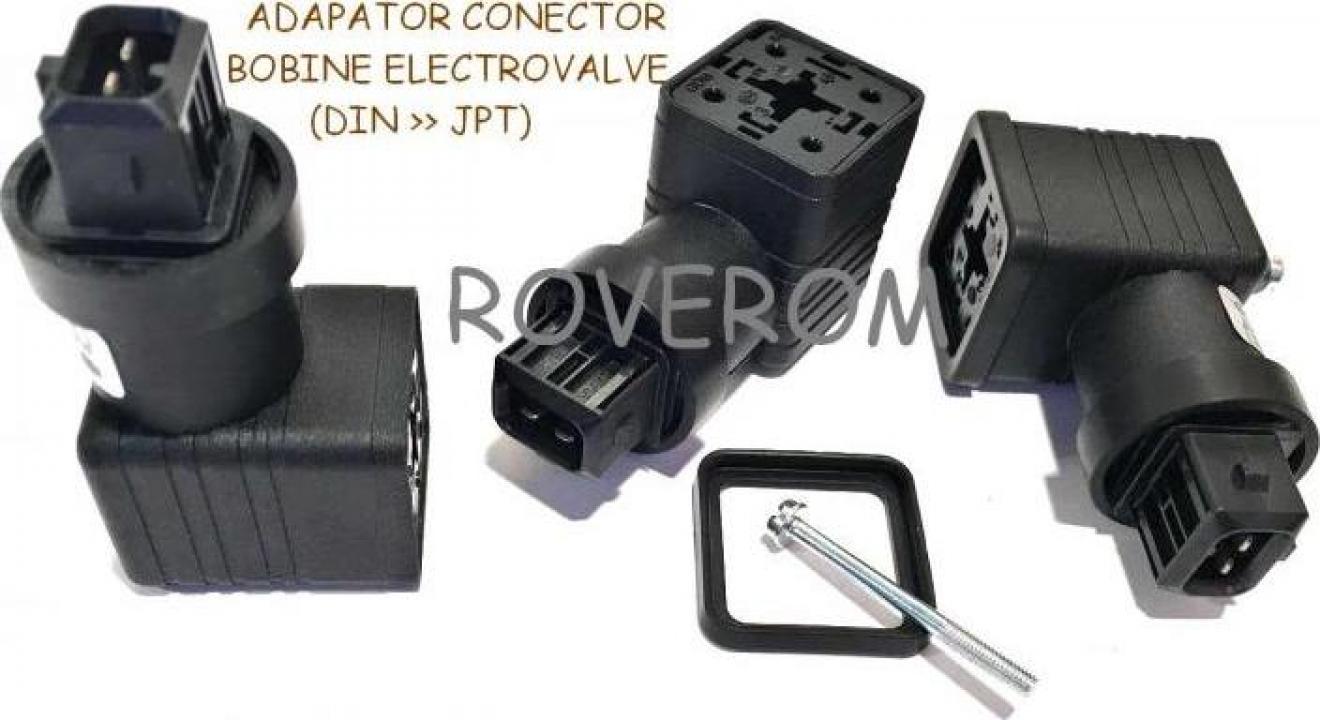 Adaptor conector bobine, de la 3 pini la 2 pini