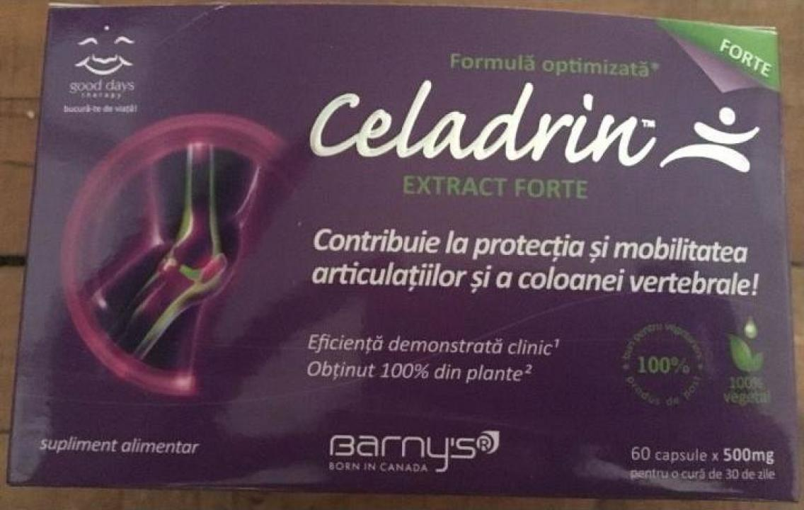 Supliment alimentar Celadrin Extract Forte capsule