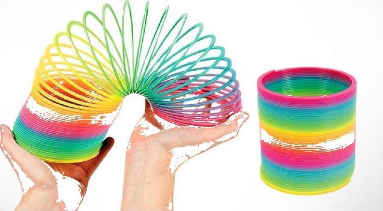 Set 3 jucarii spiralate Slinky
