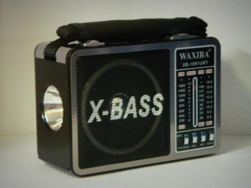 Radio portabil MP3/USB/SD Waxiba XB-1091URT
