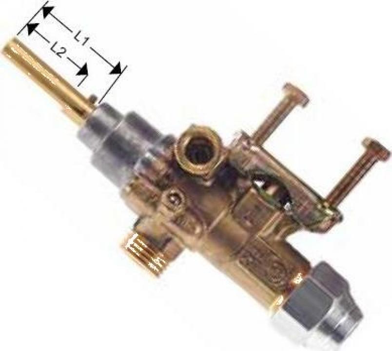 Robinet de gaz PEL 21S intrare gaz 21mm 101544