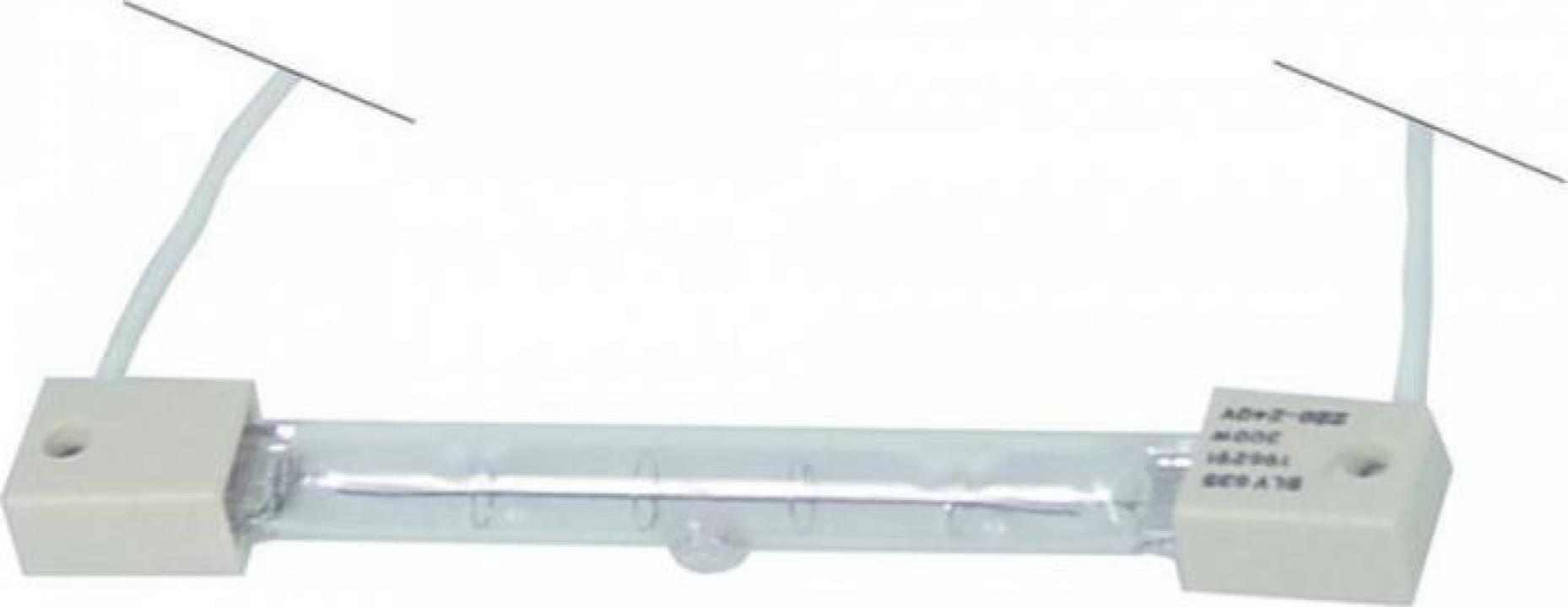 Lampa infrarosu, 220-240V, 300W, L 122mm