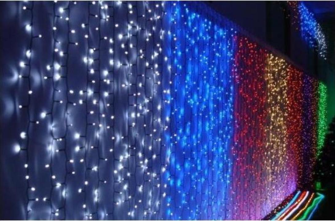 Perdea luminoasa Craciun 3200 led-uri 3x10m