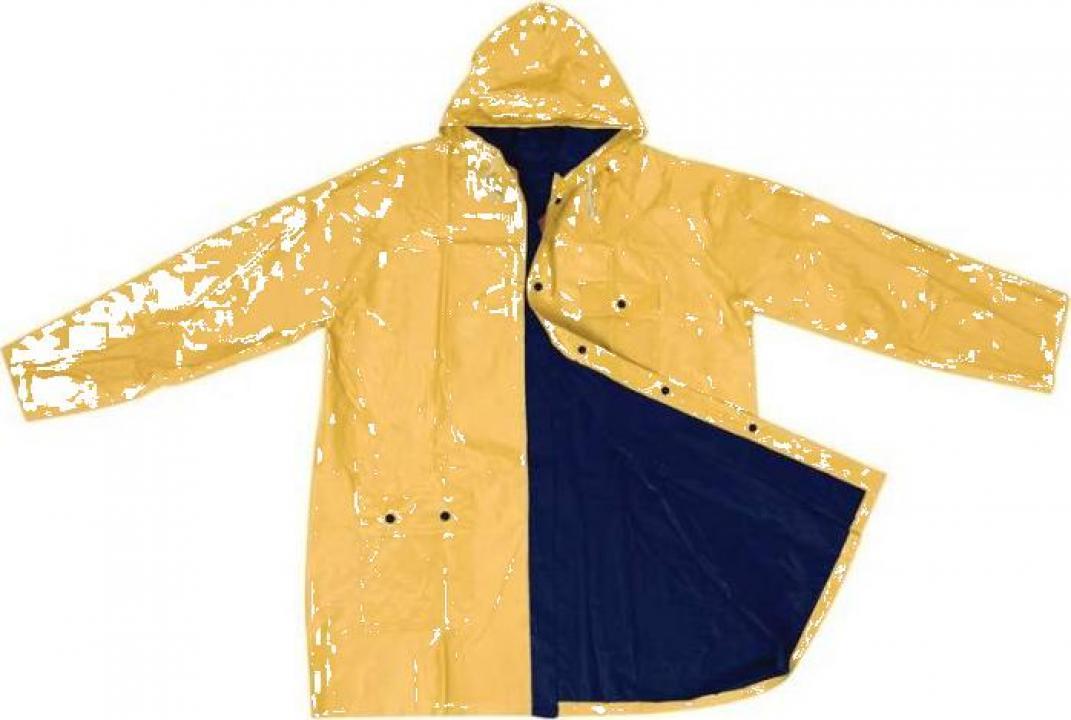 Pelerina de ploaie reversibila din PVC - CR49205