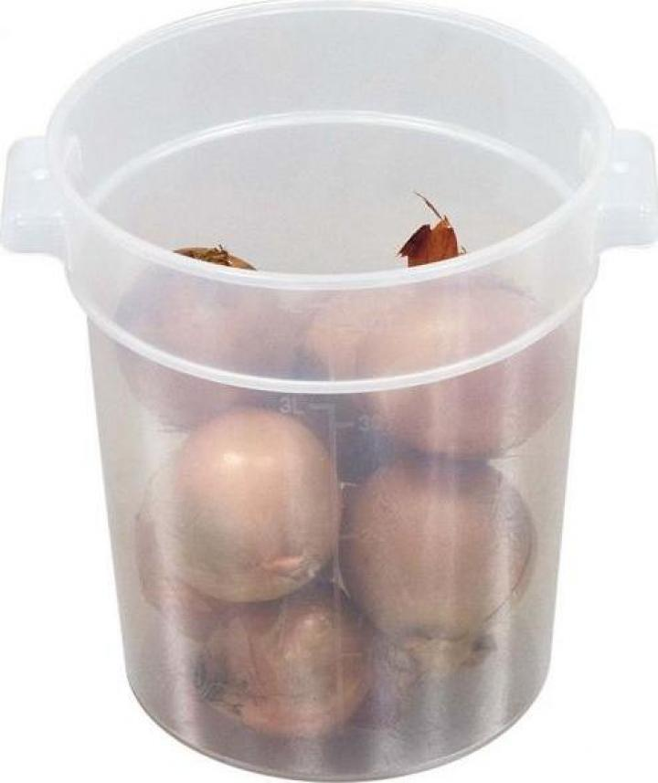 Container polipropilena depozitare alimente 2 litri