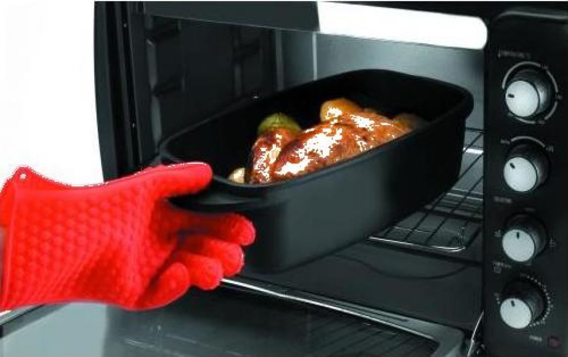 Manusa silicon pentru cuptor