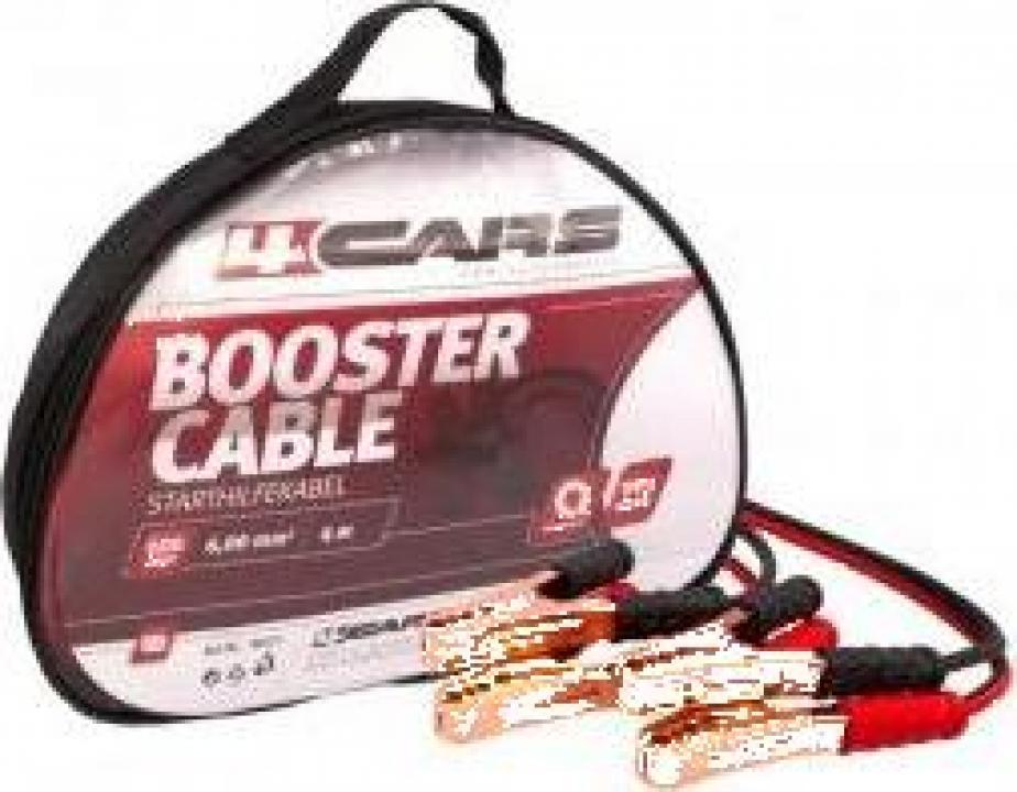 Set cabluri pornire Sal 4Cair, 600 A, lungime 4 m