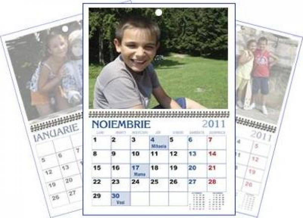 Calendar personalizat de perete CALP003