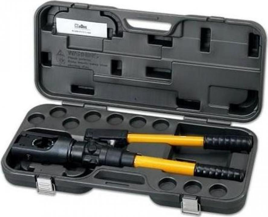 Set cleste hidraulic pentru sertizat cabluri