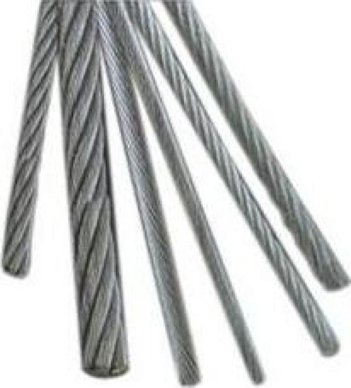 Cabluri din otel normale 6x37+FC