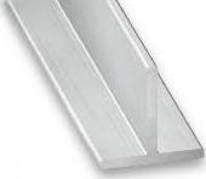 Profil T aluminiu 100x100x3.5 teu 6060 T6 duraluminiu dural