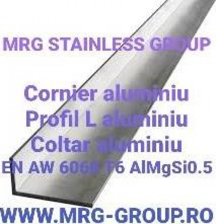 Profil L aluminiu 140x40x3 cornier coltar aluminiu, alama