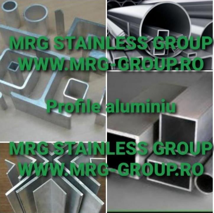Profile de aluminiu - corniere L T U teava rotunda patrata