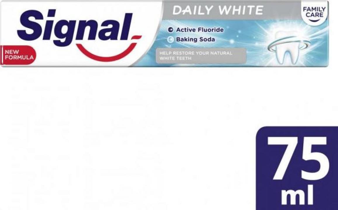 Pasta de dinti Signal Family Daily White 75ml