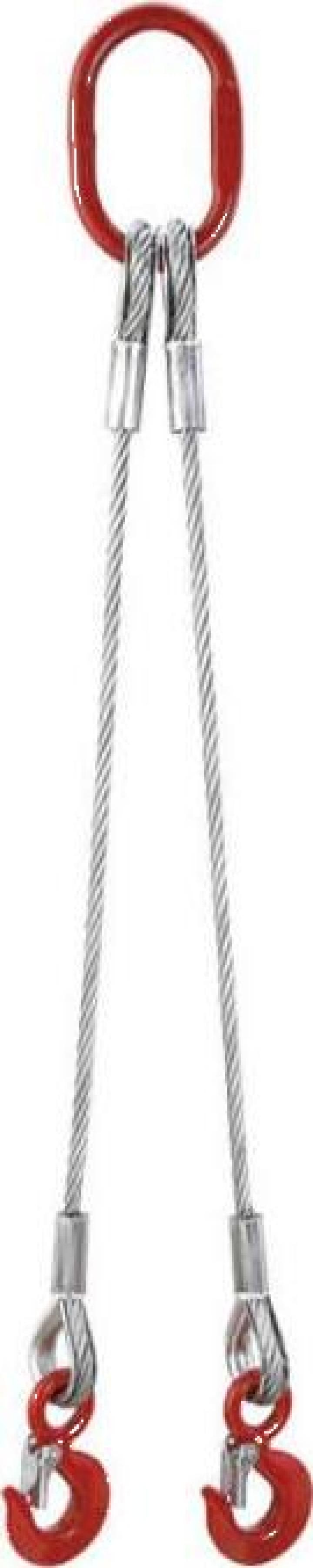 Lant ridicare 2 cabluri si 2 carlige AN2G/12/1