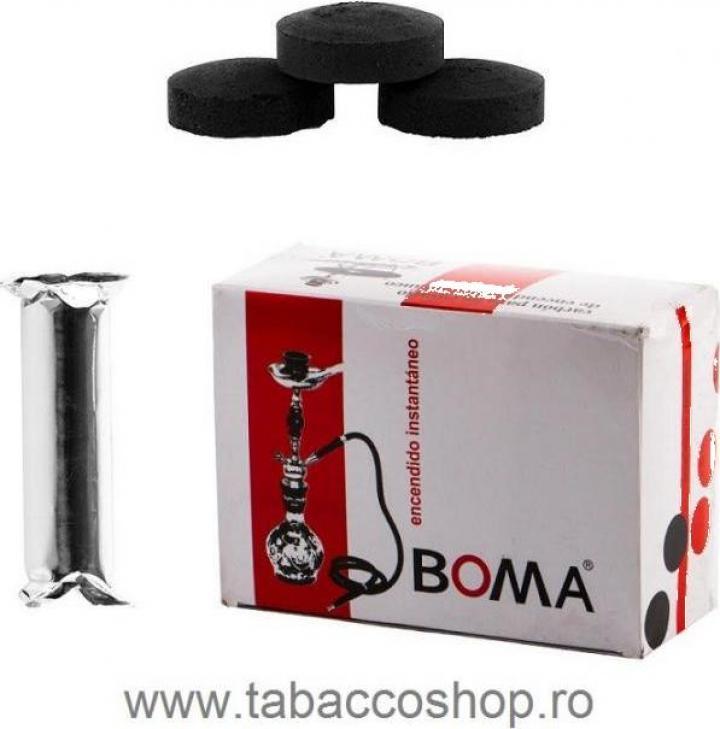 Carbuni narghilea Boma 40mm (o rola cu 10 carbuni)