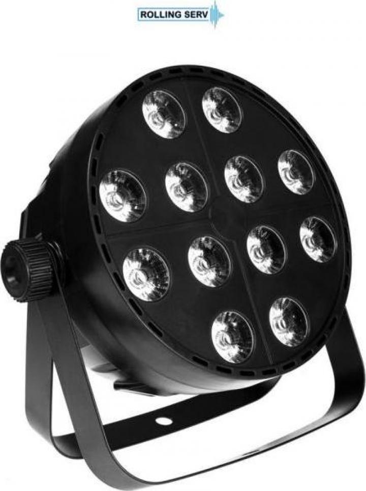 Proiector Colorstage HD PAR LED 12x12 RGBWA
