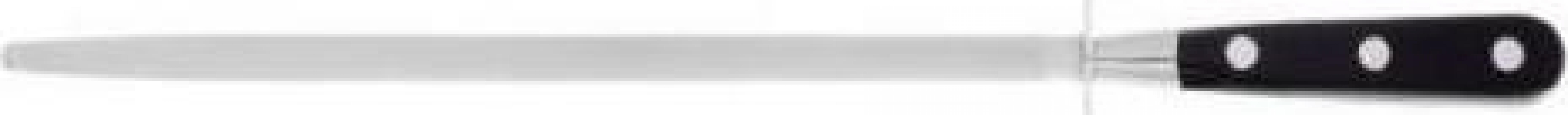 Masat profesional pentru cutite, 30 cm, maner negru