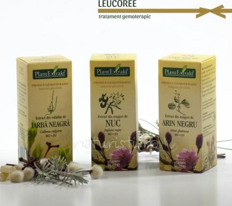 Tratament naturist - Leucoree