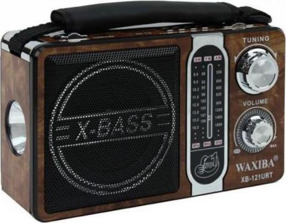 Radio portabil, MP3, usb, sd si lanterna