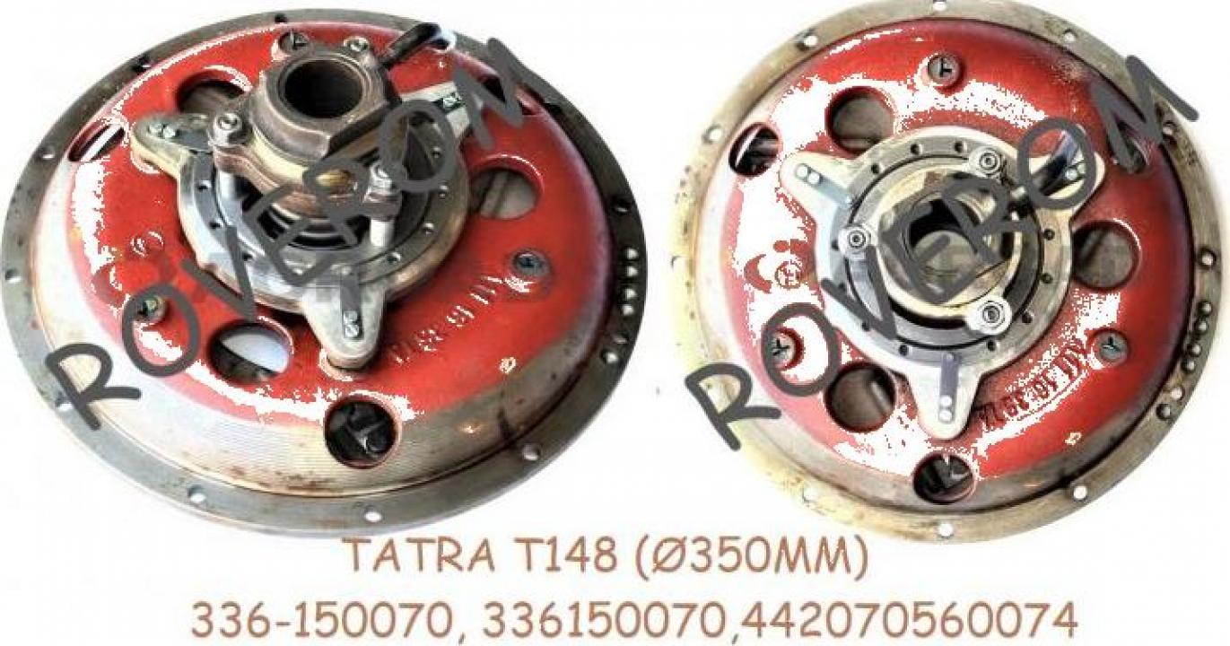 Ambreiaj Tatra T148 vechi, 350mm