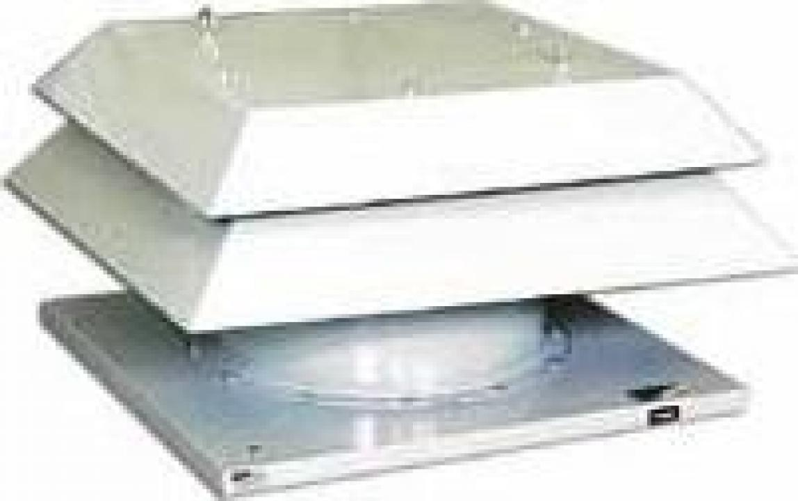 Ventilator de tavan evacuare fum HTMF-100-4T-10