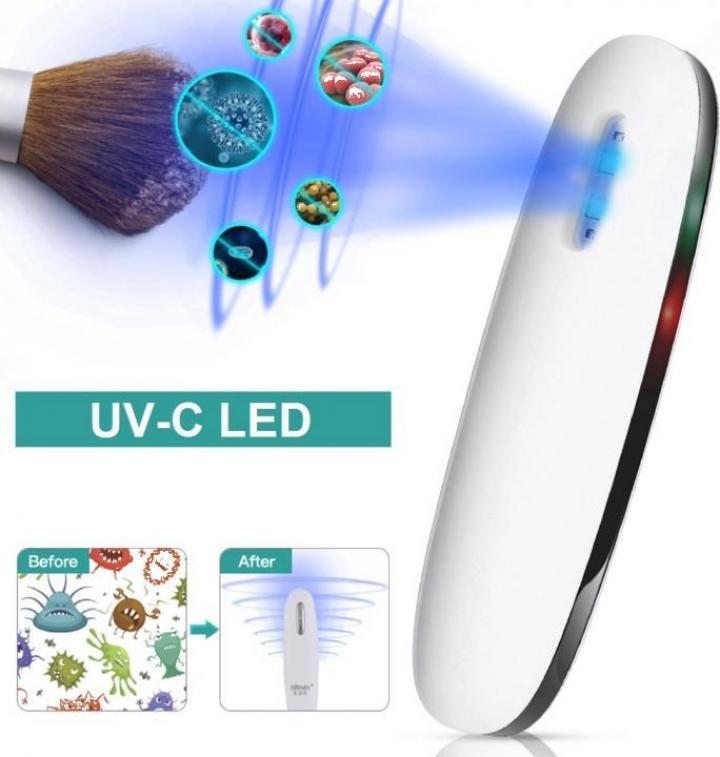 Mini lampa UV-C portabila pentru sterilizare
