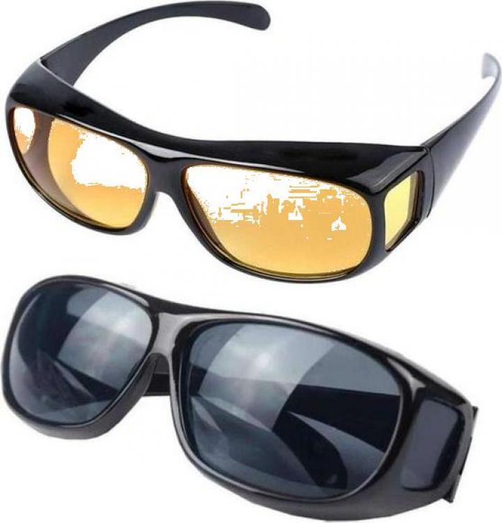 Set 2 perechi de ochelari HD Vision cu protectie UV