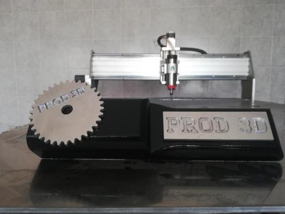 Debitare CNC - aluminiu, MDF, otel, inox, PAL, acrilic