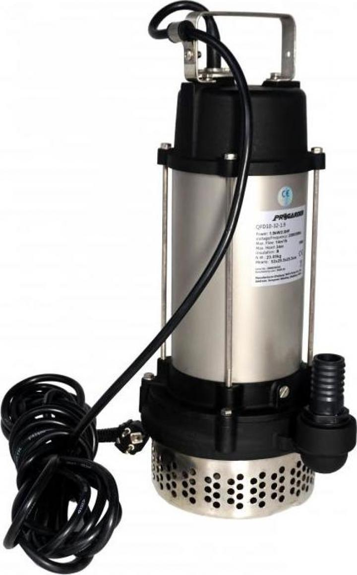 "Pompa submersibila 1.25"", 1.9kW ProGarden QFD10-32-1.9"