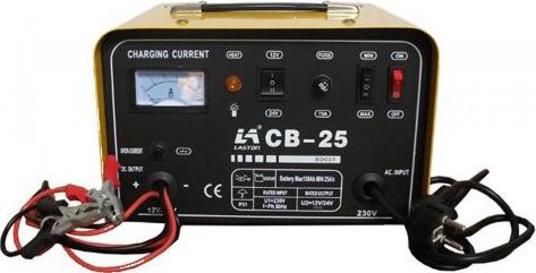 Redresor auto Tehnoweld CB-25, 12-24 V, 25-150 Ah