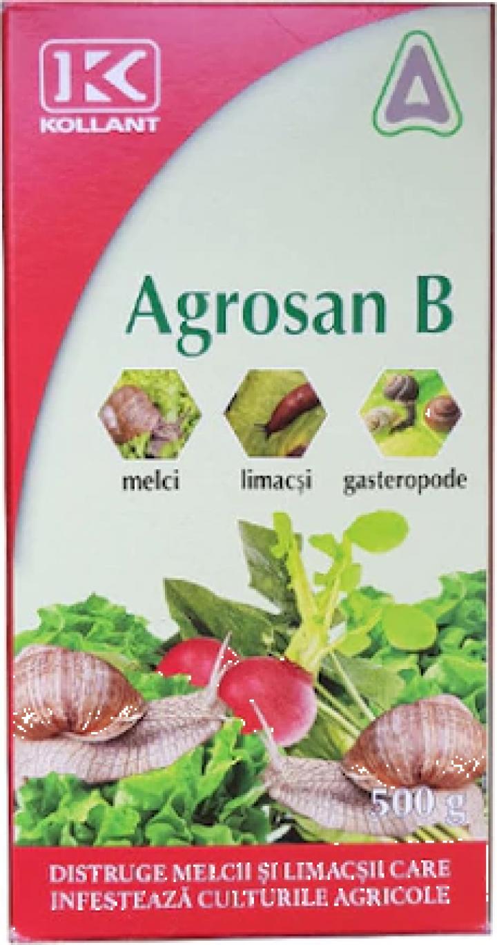 Repelent granulat anti melci Agrosan B 500 gr.