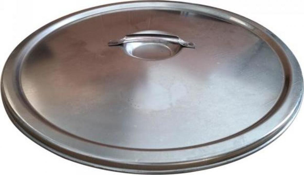 Capac antipraf pentru cisterna Marchisio CP50, 500 mm, inox