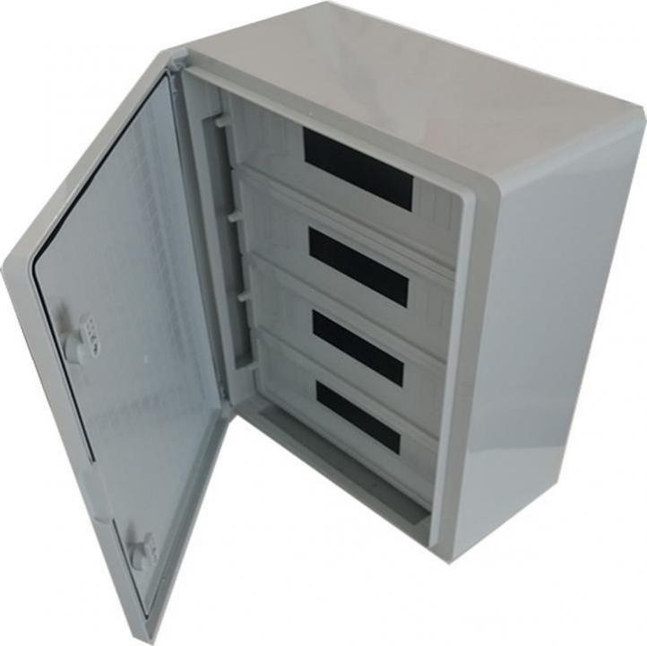 Panou electric ABS cu usa mata 60 module D:40x60x20 cm, IP65