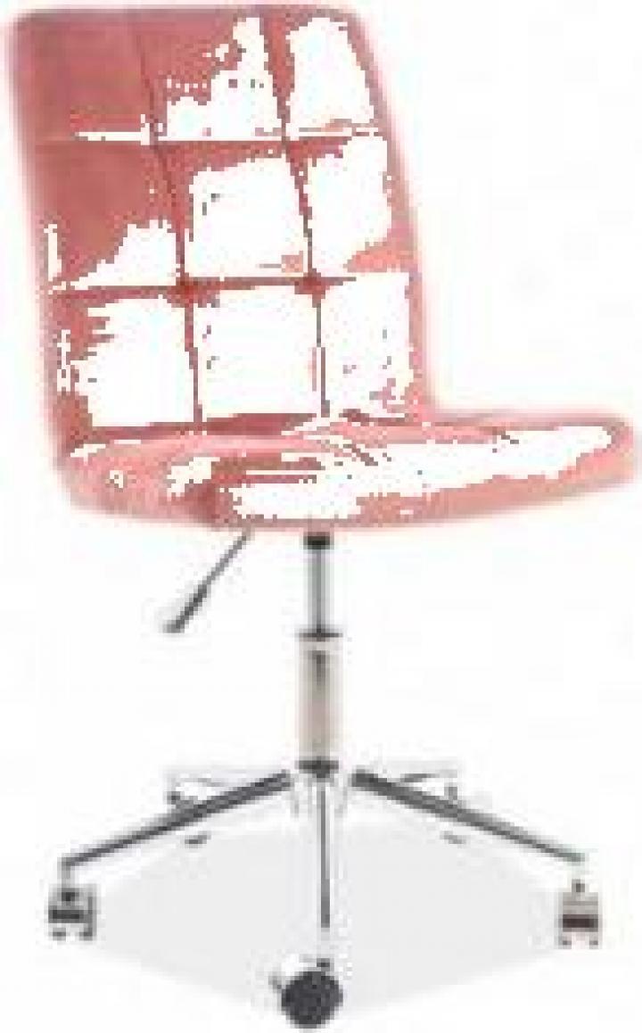 Scaun birou Q-020 roz antic