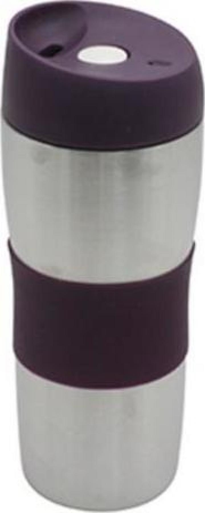Termos din inox si silicon 400ml Sapir SP2011F Z2011F